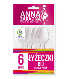 ANNA Łyżeczki BIO 6szt x34 (9104) 69 p pm