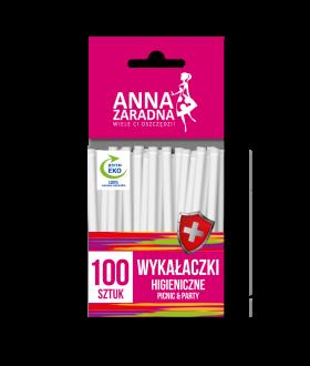 ANNA Wykałaczki higieniczne 100szt x50 (9159) 59 p pm