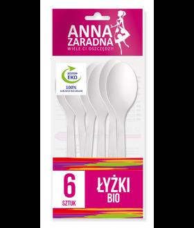 ANNA Łyżki BIO 6szt x34 (9098) 99p pm