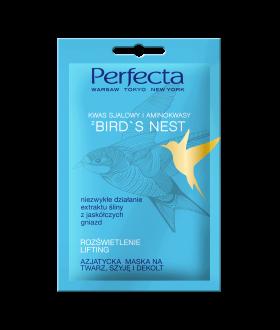 PERFECTA MASECZ-sasz .Bird`s Nest rozświetlenie ,odmłodzenie