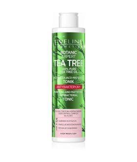 EVELINE BOTANIC EXP.TEA TREE Tonik 225ml oczyszczająco-matujący