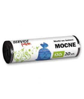 SERVICE PACK WORKI na smieci MOCNE LDPE 120L / 20szt. x18 (1680) £2.99 pm