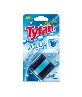 TYTAN Kostka do spłuczki barwiąca wodę Blue Water 50g x20 59p PM (0101)