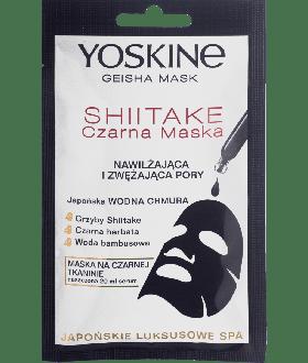 DAX YOSKINE GEISHA MASK CZARNA MASKA SHIITAKE